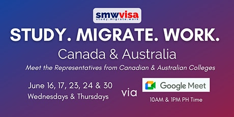 Study Abroad: Canada and Australia (June 2021 webinars) tickets