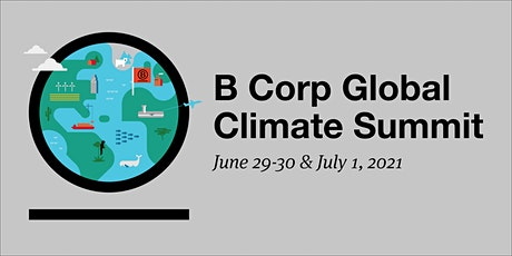 B Corp Global Climate Summit entradas