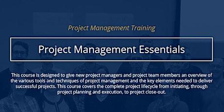 Project Management Essentials [ONLINE] tickets