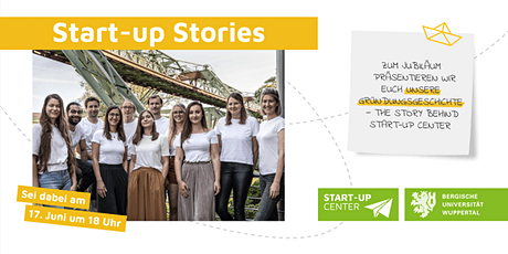 Start-up Stories – The Story behind Start-up Center tickets