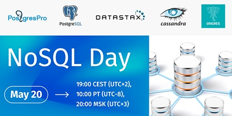 NoSQL Day with PostgresPro, OnGres & Datastax entradas