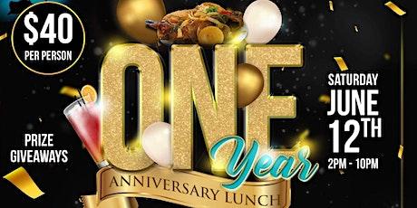 Virgin Islands Exquisite Eats One Year Anniversary Lunch tickets