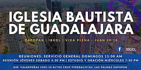 Servicio Dominical 09-05-2021 entradas