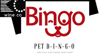 Free Pet Bingo at KC Wine Co Vineyard & Winery in Olathe, KS tickets