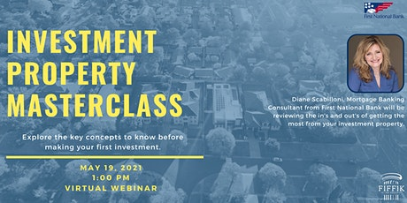 Investment Property Masterclass | Presented by First National Bank tickets