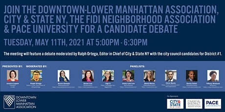 NY City Council Candidates Debate for District #1 tickets