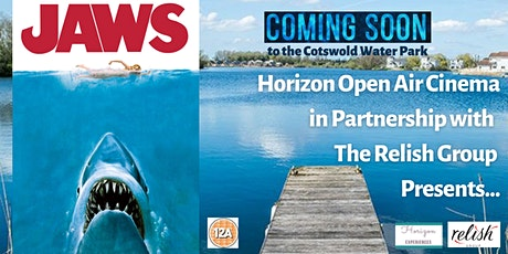 Jaws Open Air Cinema at Cotswold Water Park tickets