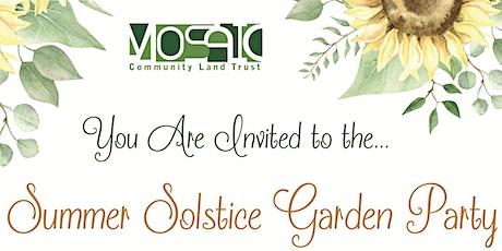 Summer Solstice Garden Party tickets