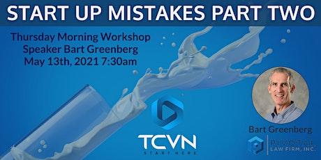 TCVN: Common Entrepreneur Mistakes Part 2 tickets