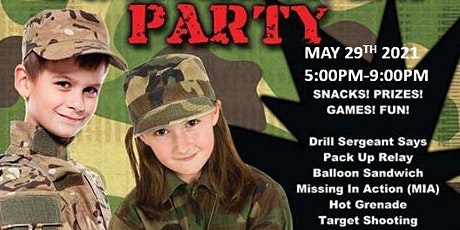 Parent's Night Out: Camouflage Party tickets