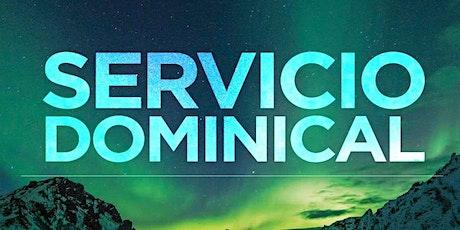 1er. Servicio Dominical - Domingo 16 de Mayo entradas