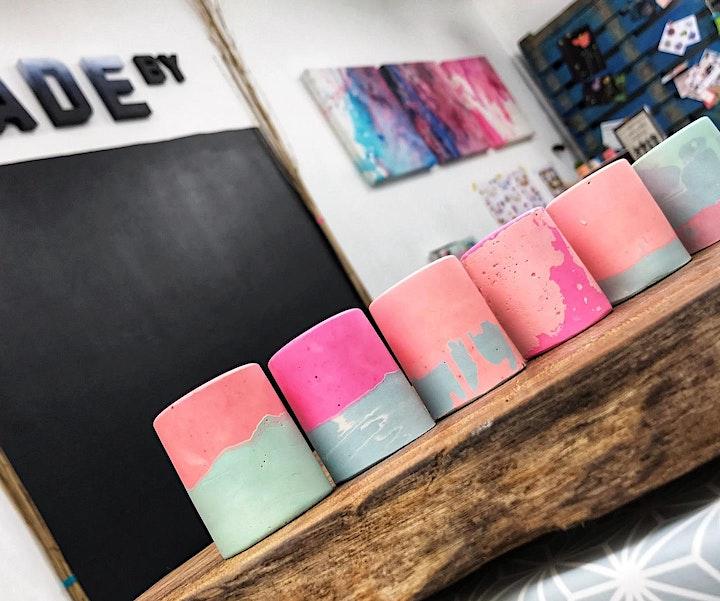 ADULT CRAFT WORKSHOP: Make your own Eco-Resin Pots & Candle Making image