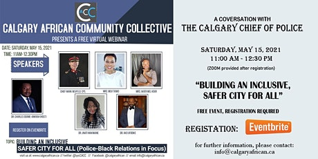 A Conversation with the Calgary Chief of Police tickets