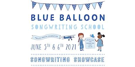 THE 12th ANNUAL BLUE BALLOON SPRING SHOWCASE (at home)! tickets