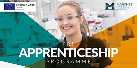 Pre apprenticeship programme tickets