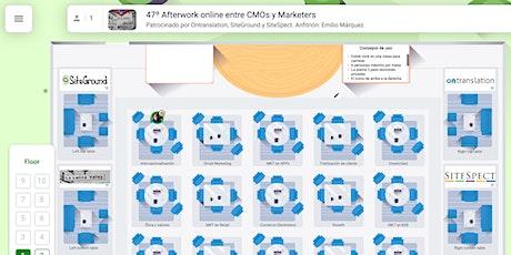 Afterwork online entre CMOs y Marketers entradas