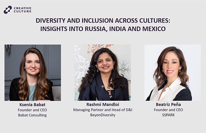 Diversity and inclusion across cultures: Russia, India, Mexico image