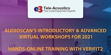 Audioscan Workshop 2021 - e3 Tele-Acoustics - PM Session tickets