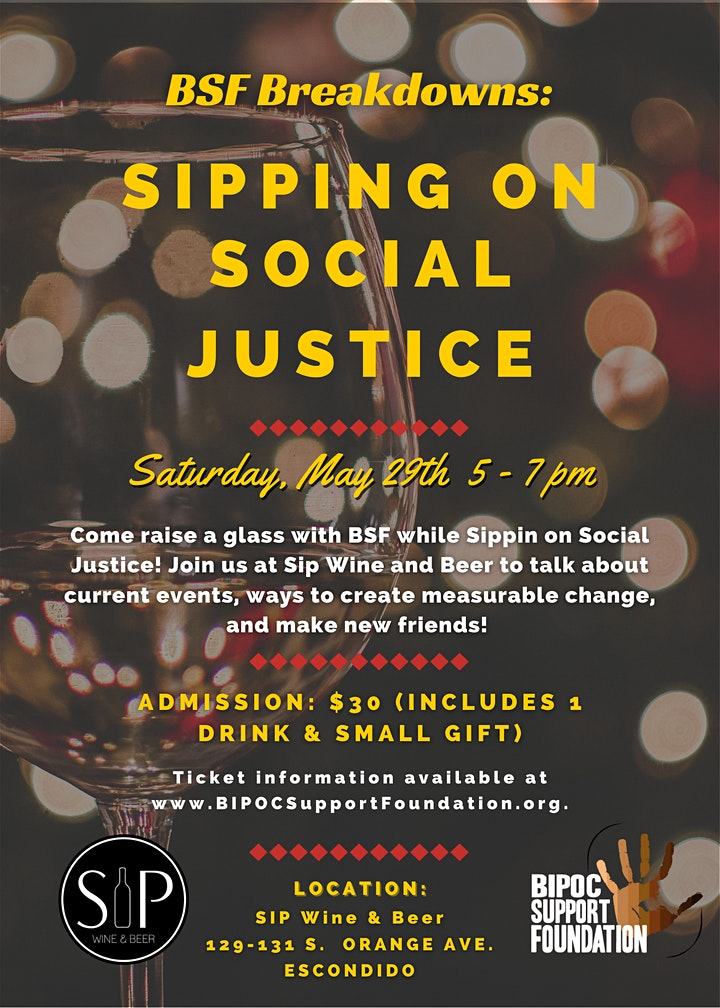 BSF Breakdowns: Sippin' on Social Justice image