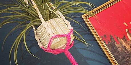 Make your own MACRAME Dip-Dyed Plant Hanger tickets