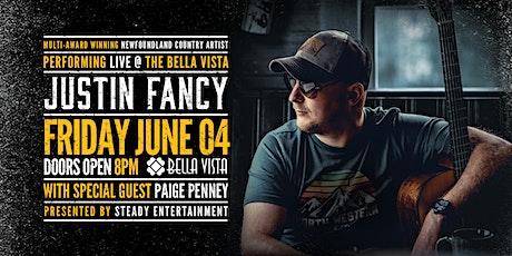 Justin Fancy  Live w/ Paige Penney tickets