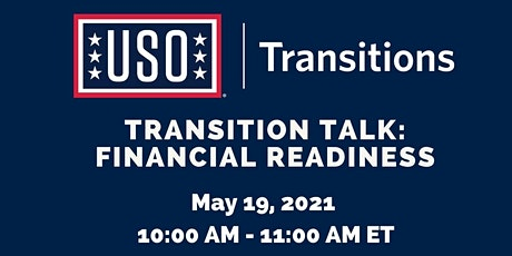 Transition Talk: Financial Readiness tickets