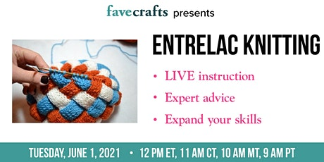 Entrelac Knitting tickets
