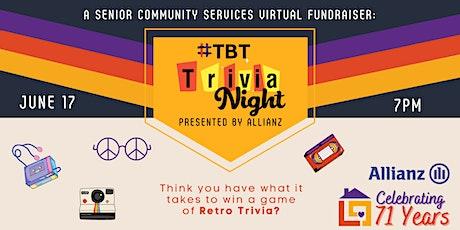 #TBT Trivia Night Presented by Allianz tickets