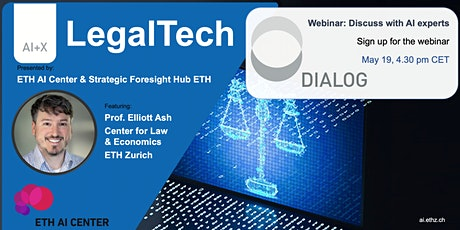AI+X: Dialog on LegalTech tickets