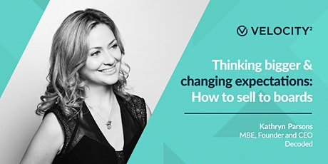 Velocity² Interview: Thinking bigger & changing expectations tickets