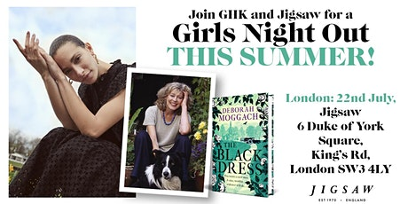 GIRLS NIGHT: An evening with Deborah Moggach, GOOD HOUSEKEEPING & JIGSAW tickets