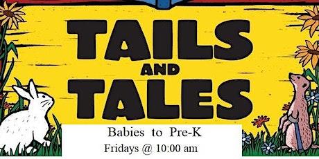 Summer Reading Program Tails & Tales: Octopus & Fish tickets