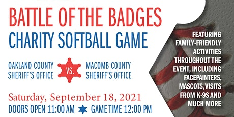 3rd Annual Battle of the Badges Charity Softball Game tickets
