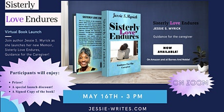 Sisterly Love Endures Virtual Book Launch tickets