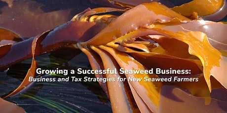 Growing a Successful Seaweed Business tickets