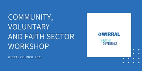 Community, Voluntary and Faith Sector Workshop tickets