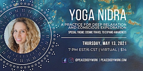 Yoga Nidra: A practice for deep relaxation and conscious exploration tickets