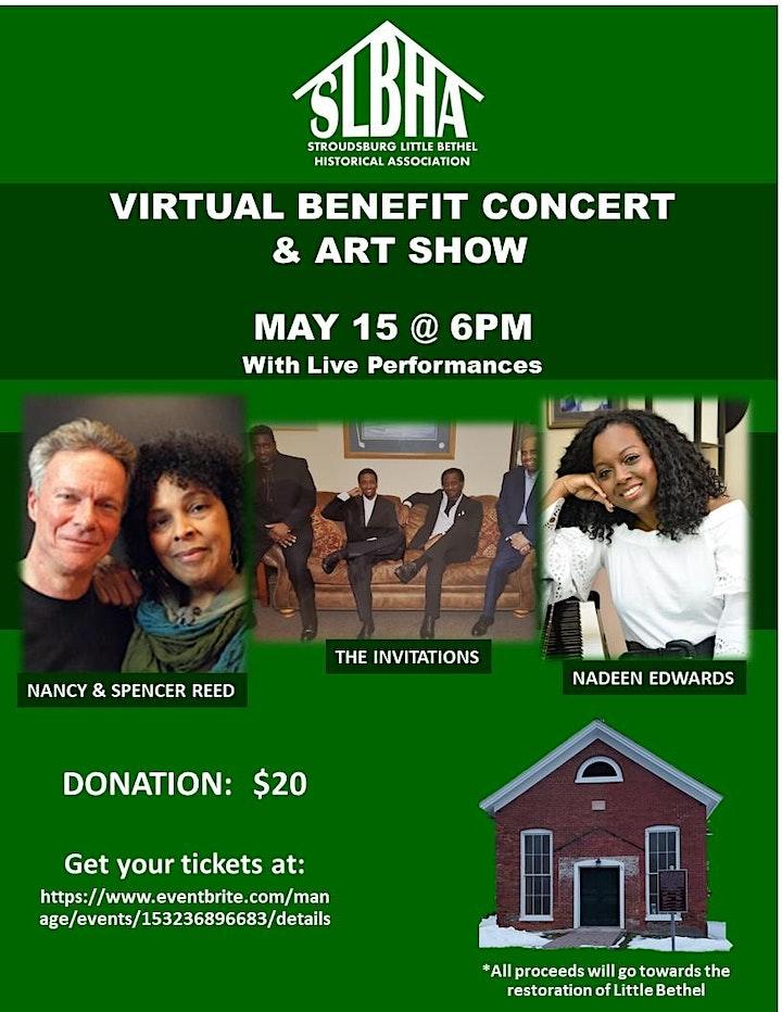 Stroudsburg Little Bethel Virtual Benefit Concert and Art Show image