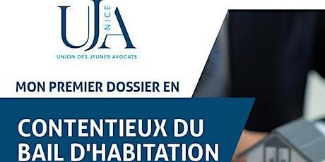 MON PREMIER DOSSIER EN CONTENTIEUX DU BAIL D'HABITATION billets