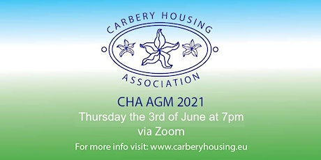 Carbery Housing Association AGM 2021 tickets