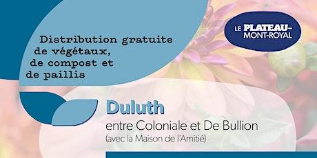 COMPLET - Distribution de végétaux 2021 : secteur Jeanne-Mance tickets