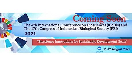 The 4th International Conference on Biosciences (ICoBio) bilhetes