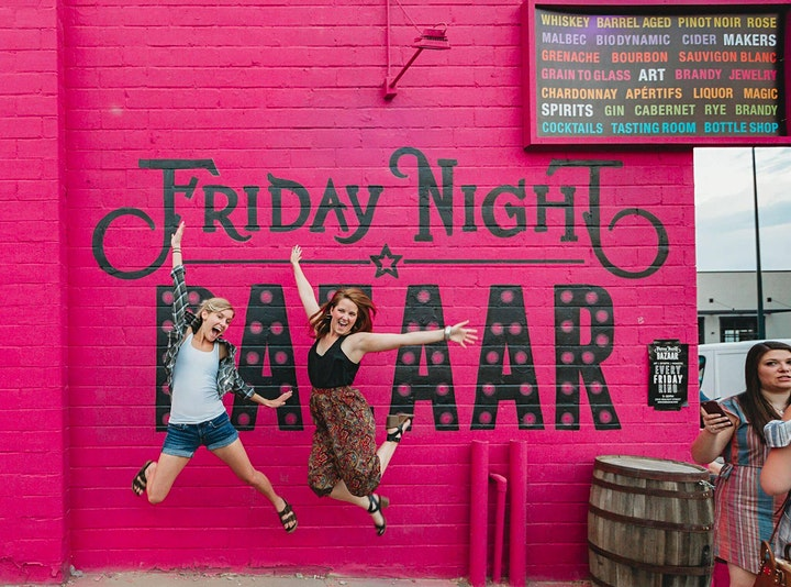 Friday Night BAZAAR: Shop & Sip image