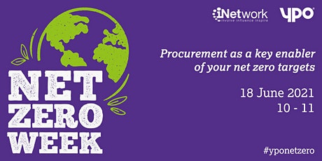 Procurement as a key enabler of your net zero targets tickets