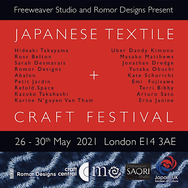 Japanese Textiles and Craft Festival  II image