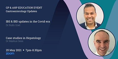 GP & AHP Educational Lecture Via Zoom - Gastroenterology Updates tickets