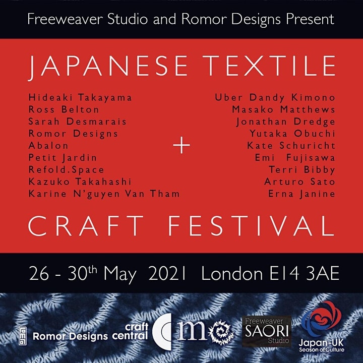 Japanese Textiles and Craft Festival  III image
