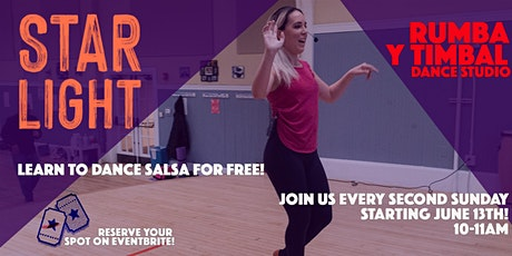 Rumba y Timbal Free Salsa Dance Lesson tickets
