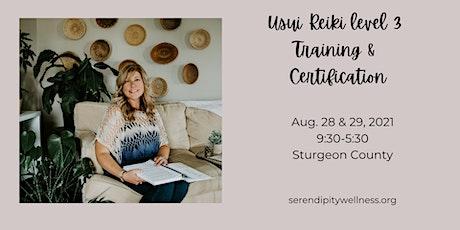 Usui Level 3 Reiki  Training & Certification tickets