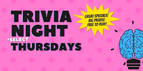 Thursday Night Trivia at The Pony tickets